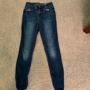 Old Navy High Rise Skinny Rockstar Jeans